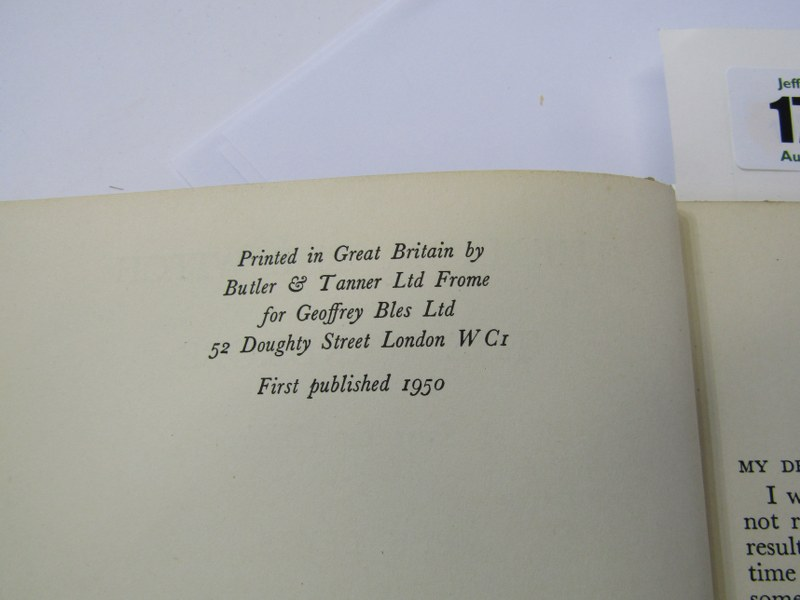 FIRST EDITION, 'The Lion, The Witch and The Wardrobe' 1950 first edition by C. S. Lewis, original - Image 3 of 4