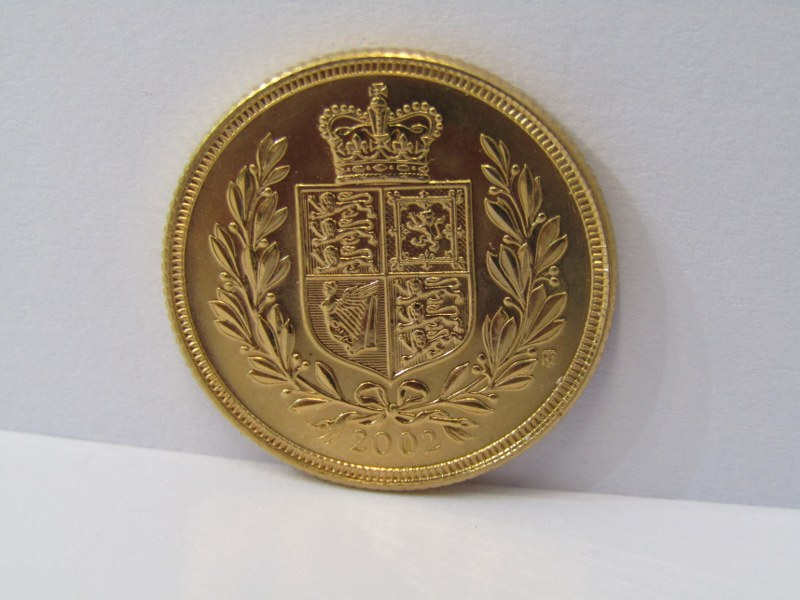 GOLD SOVEREIGN, 2002 Shield back high grade/mint - Image 2 of 2
