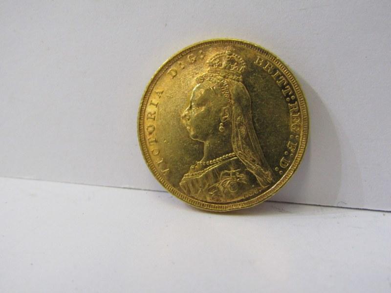 QUEEN VICTORIA GOLD SOVEREIGN, 1893 Melbourne Mint