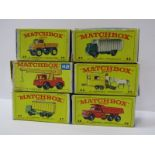 MATCHBOX LESNEY BOXED VEHICLES, no 47 a Daf Tipper Container Truck, no 49 a Unimog, no 43 a Pony