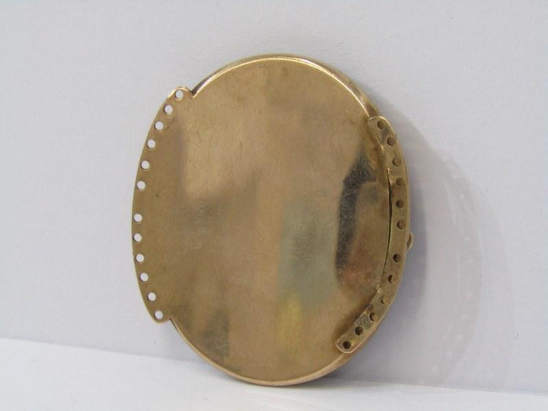 GOLD FRAMED MINIATURE OF A DISTINGUISHED GENTLEMAN - Image 2 of 3