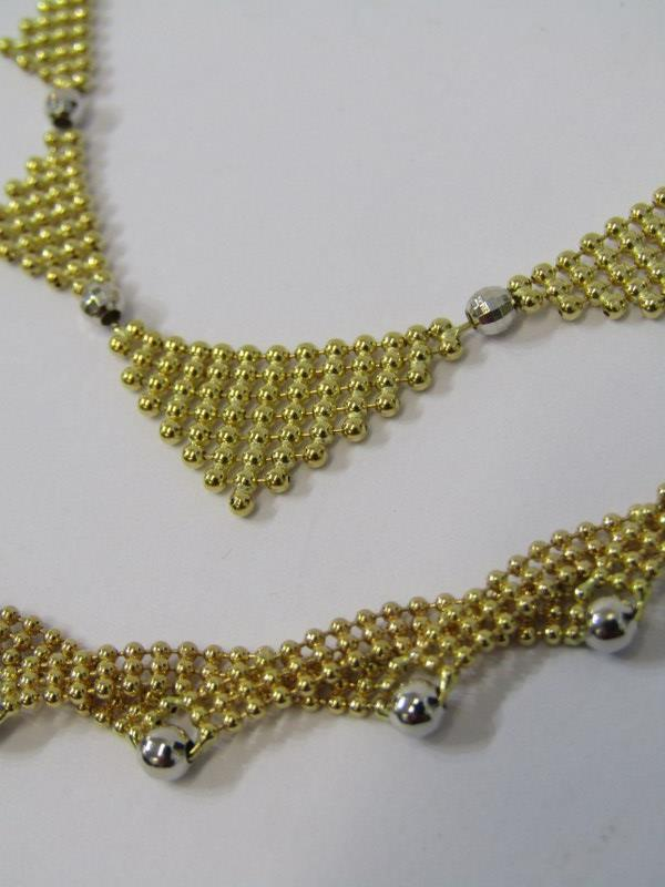 2, 18ct YELLOW GOLD NECKLACES, combined weight approz 24.8grams - Image 2 of 2