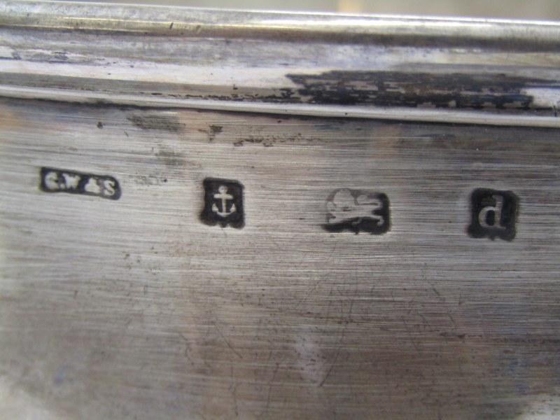 SILVER PRESENTATION PEDESTAL BOWL, half fluted stemmed silver bowl with Italian inscription for - Image 3 of 3