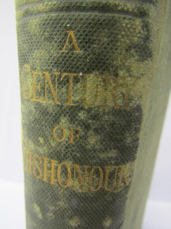 "HELEN HUNT JACKSON, ""A Century Of Dishonour"", circa 1881, title page missing & original cloth - Image 2 of 5"