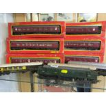 MODEL RAILWAY, OO guage Triang British Railways diesel locomotive, together with 10 assorted