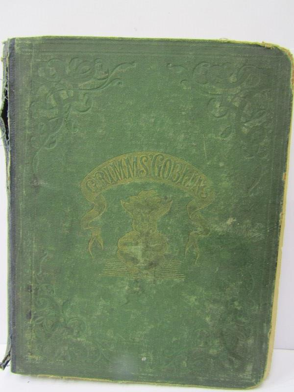 "GRIMMS BROTHERS ""Grimms Goblins"" in original green cloth re-backed, circa 1868 - Image 5 of 6"