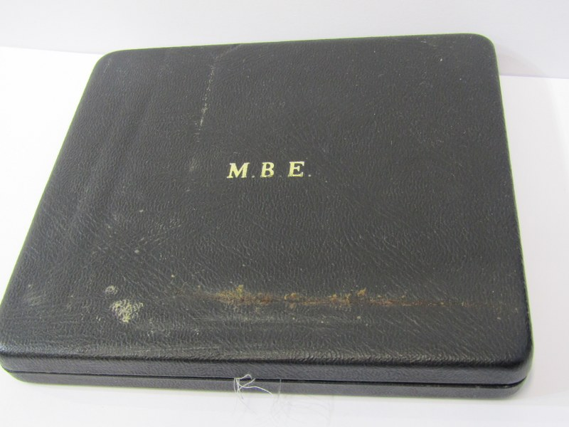 MBE, MEDAL IN ORIGINAL BOX, with paperwork - Image 2 of 2