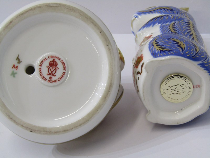 "ROYAL CROWN DERBY PAPERWEIGHTS, ""Chipmonk"" and ""Frog"" - Image 2 of 3"