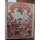 """GRIMMS BROTHERS """"Grimms Goblins"""" in original green cloth re-backed, circa 1868"""