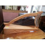 "MUSCIAL INSTRUMENT, modern crafted Irish Harp, 29"" length"