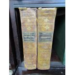 """CORNWALL REFERENCE, Hitchins & Drew """"The History of Cornwall"""", 1824 in 2 volumes, period tree calf"""