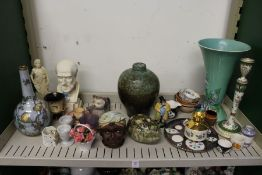 Decorative china to include vases etc.