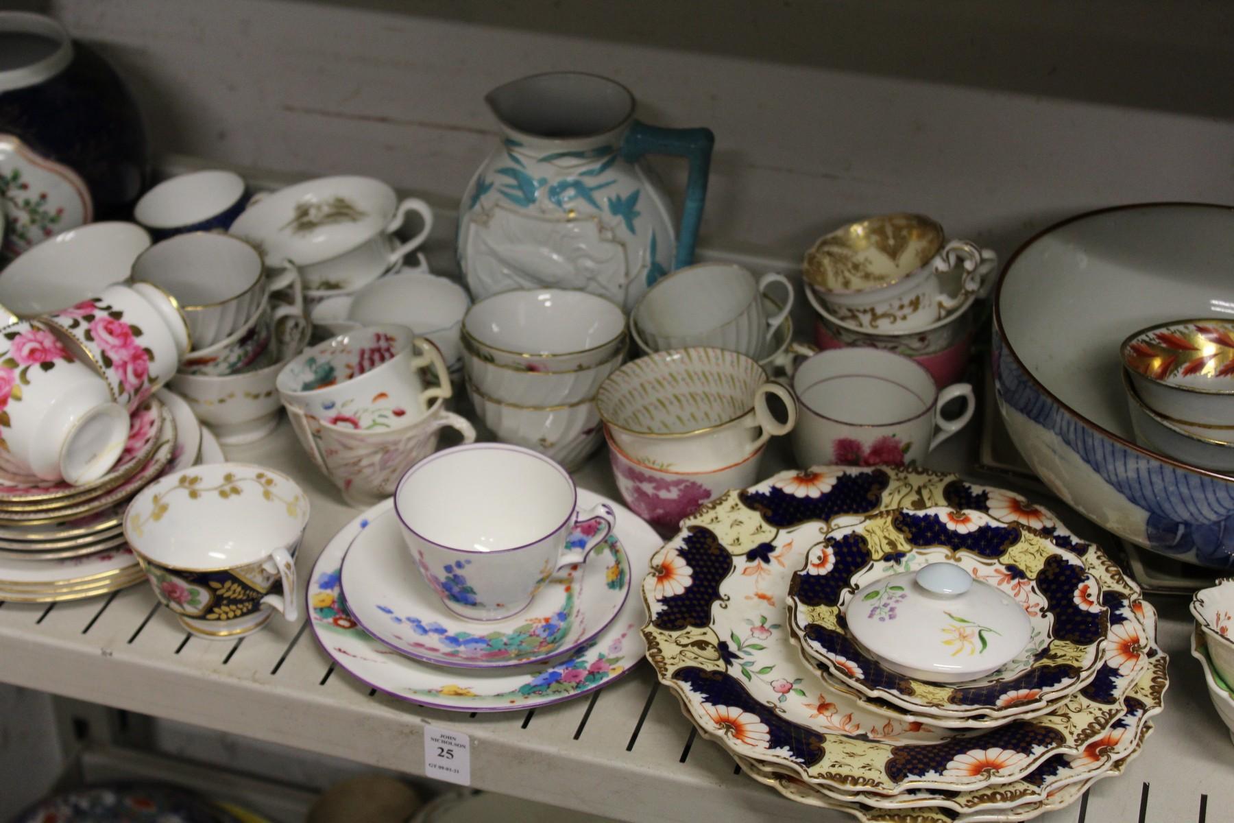Decorative tea ware etc.