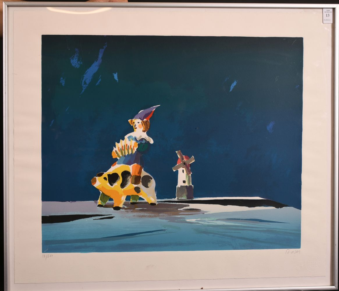 Donald Hamilton Fraser - Limited Edition Screenprint, 'Still Life Toys', Signed & Numbered in - Image 2 of 4