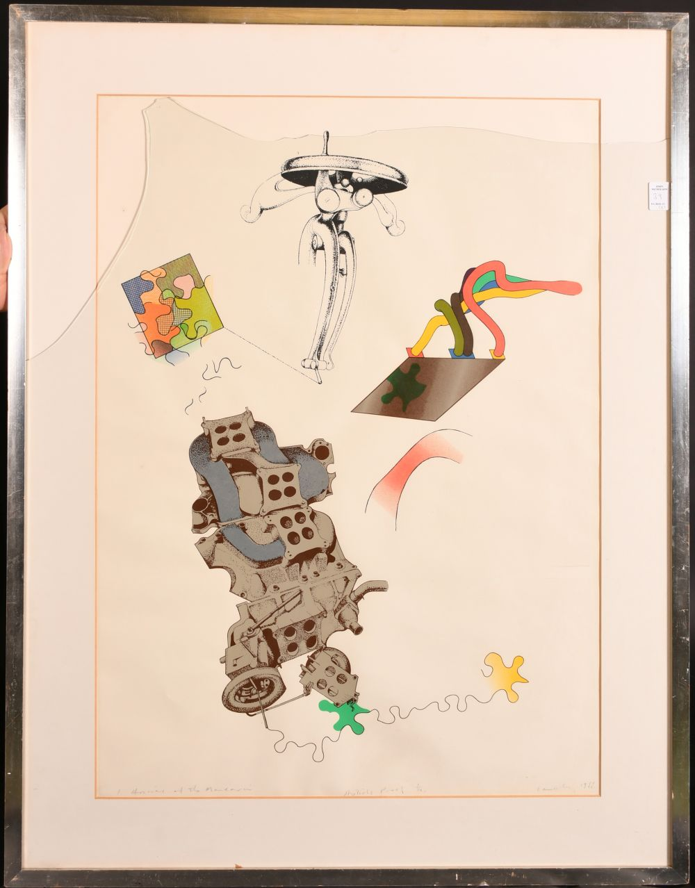 After Colin Lancely (1938-2015) Australian, 'The Arrival of the Mandarin', Lithograph, Artist's - Image 2 of 4