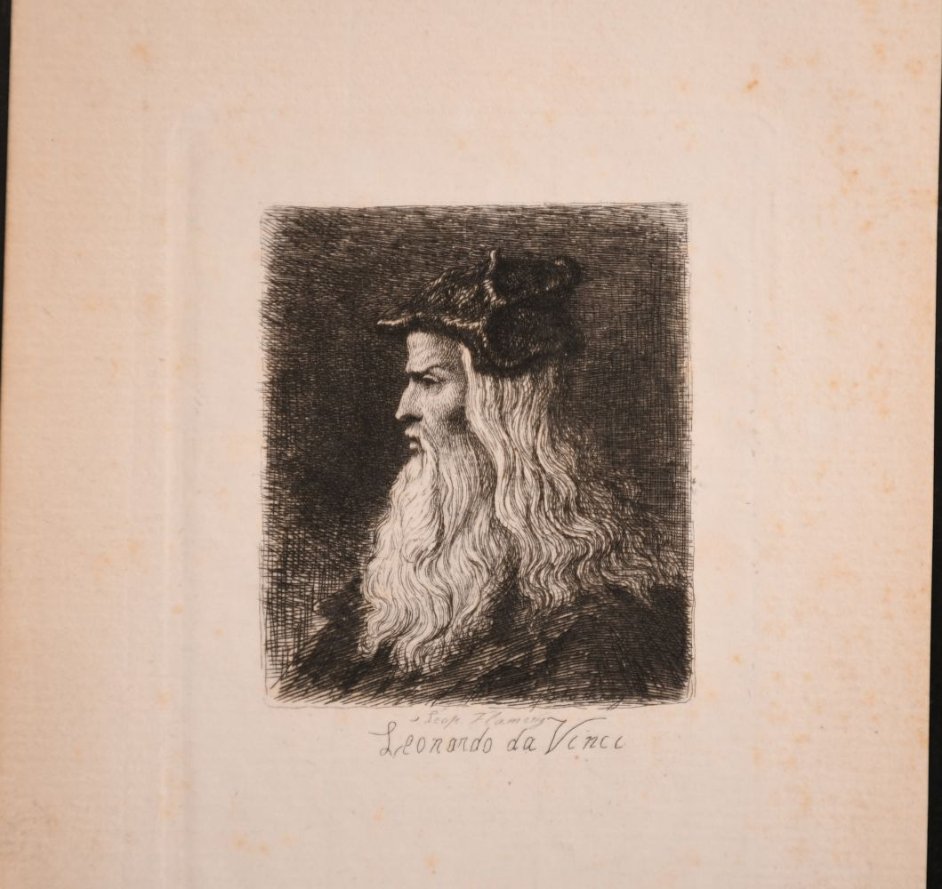 A small collection of etchings, various sizes, (6) - Image 4 of 7