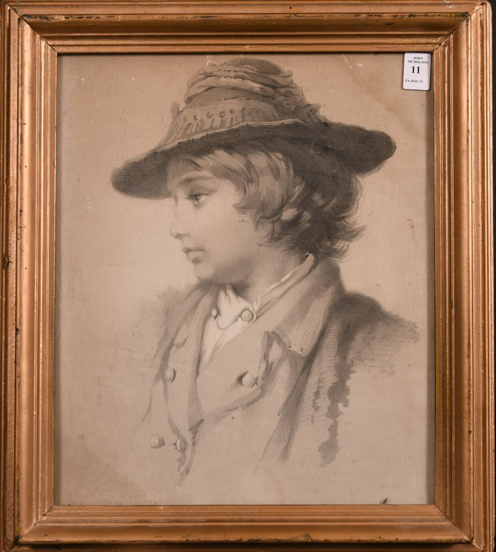 """A 19th century print of Jonah in a hat 15"""" x 12"""". - Image 2 of 3"""