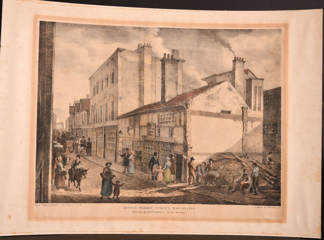 After David Roberts (1796-1964) British, Two holy land lithographs and a collection of prints by - Image 5 of 5