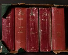 'THE ROYAL ACADEMY OF ARTS. EXHIBITION 1769-1904. Vols. 1-4. & 'Loans Exhibitions Vol. III.' (5)