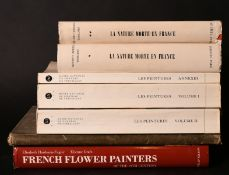A box lot. Various French painters.