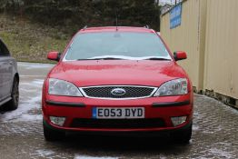 A FORD MONDEO GHIA X ESTATE 2003. 142,000 miles. MOT until 26th October 2021.