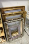 Various picture frames.