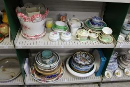 A quantity of decorative and household china.