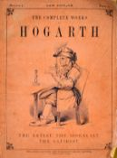 "The complete works of Hogarth printed by London Printing and Publishing Company, circa 1870, 12"" x"