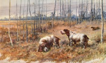 "Maud Earl (1863-1943), two prints of working dogs, print, signed and inscribed, 14"" x 8.5""."