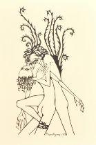 "A set of three Greek erotic prints, 20th century, each 12.5"" x 9"", (3)."