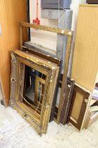 A quantity of frames.