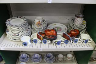 Spode Marlborough Sprays plates and other dinner ware etc.