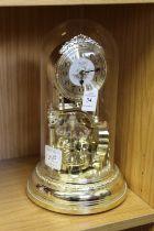 A decorative clock.