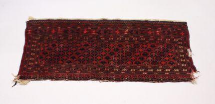 A BOKHARA SADDLE BAG 4ft x 1ft