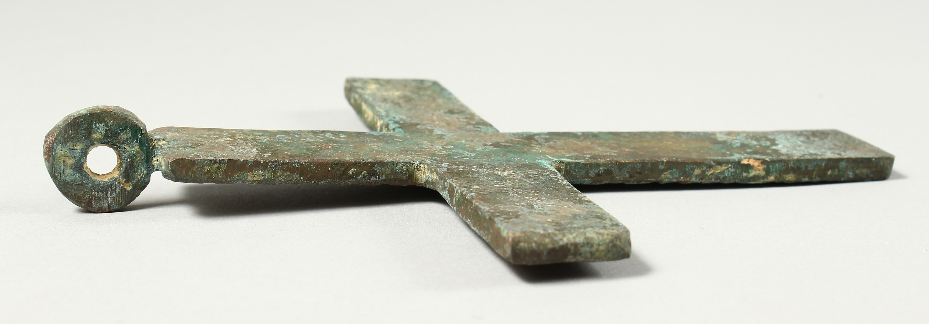 A LARGE METAL ROMAN CROSS. 6ins long - Image 3 of 3