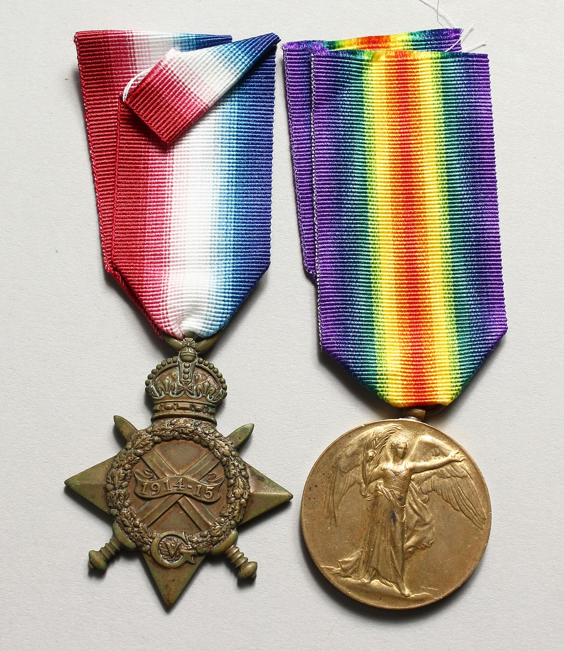 THE MEDALS OF ERNEST SELLINGS, 19 LONDON REG. 3454 610808.