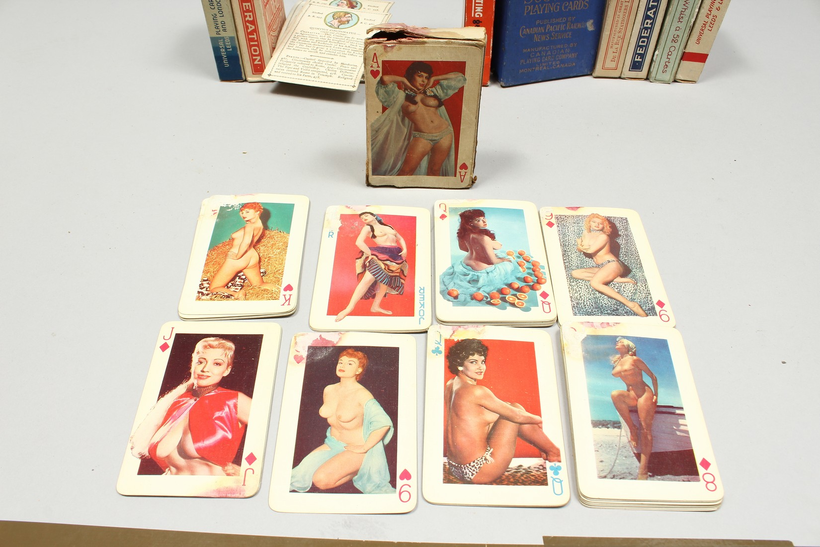 A COLLECTION OF VARIOUS PLAYING CARDS. - Image 10 of 16