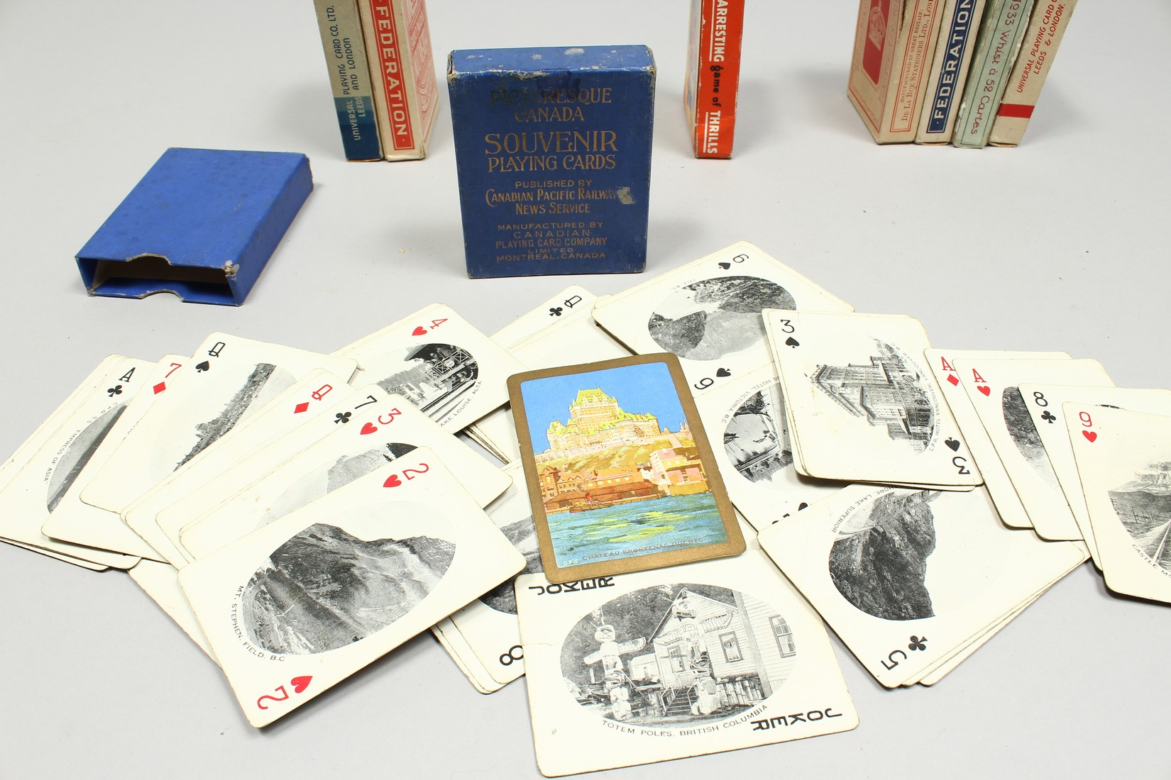 A COLLECTION OF VARIOUS PLAYING CARDS. - Image 12 of 16