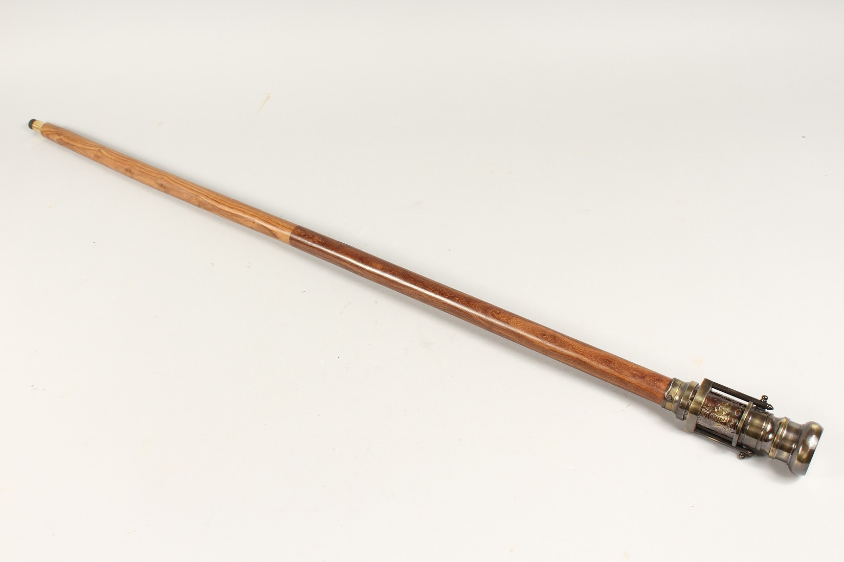 A WALKING STICK with compass and telescope - Image 8 of 9