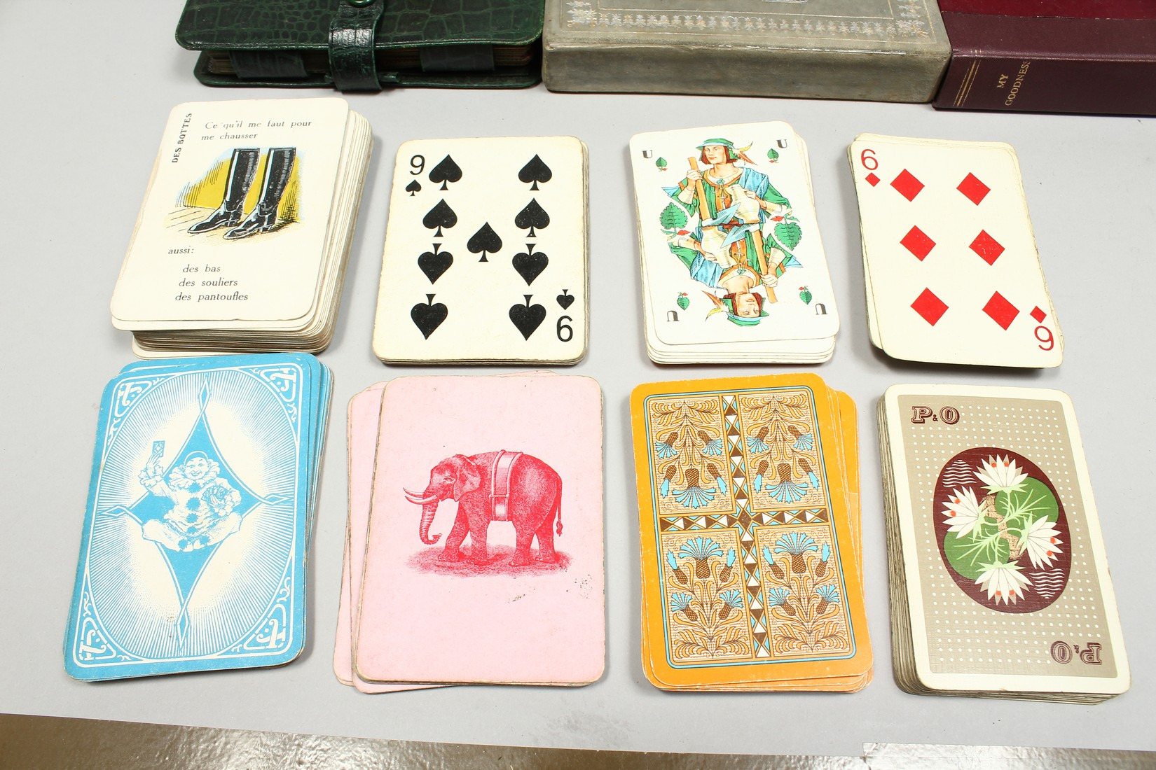 A COLLECTION OF VARIOUS PLAYING CARDS. - Image 2 of 16