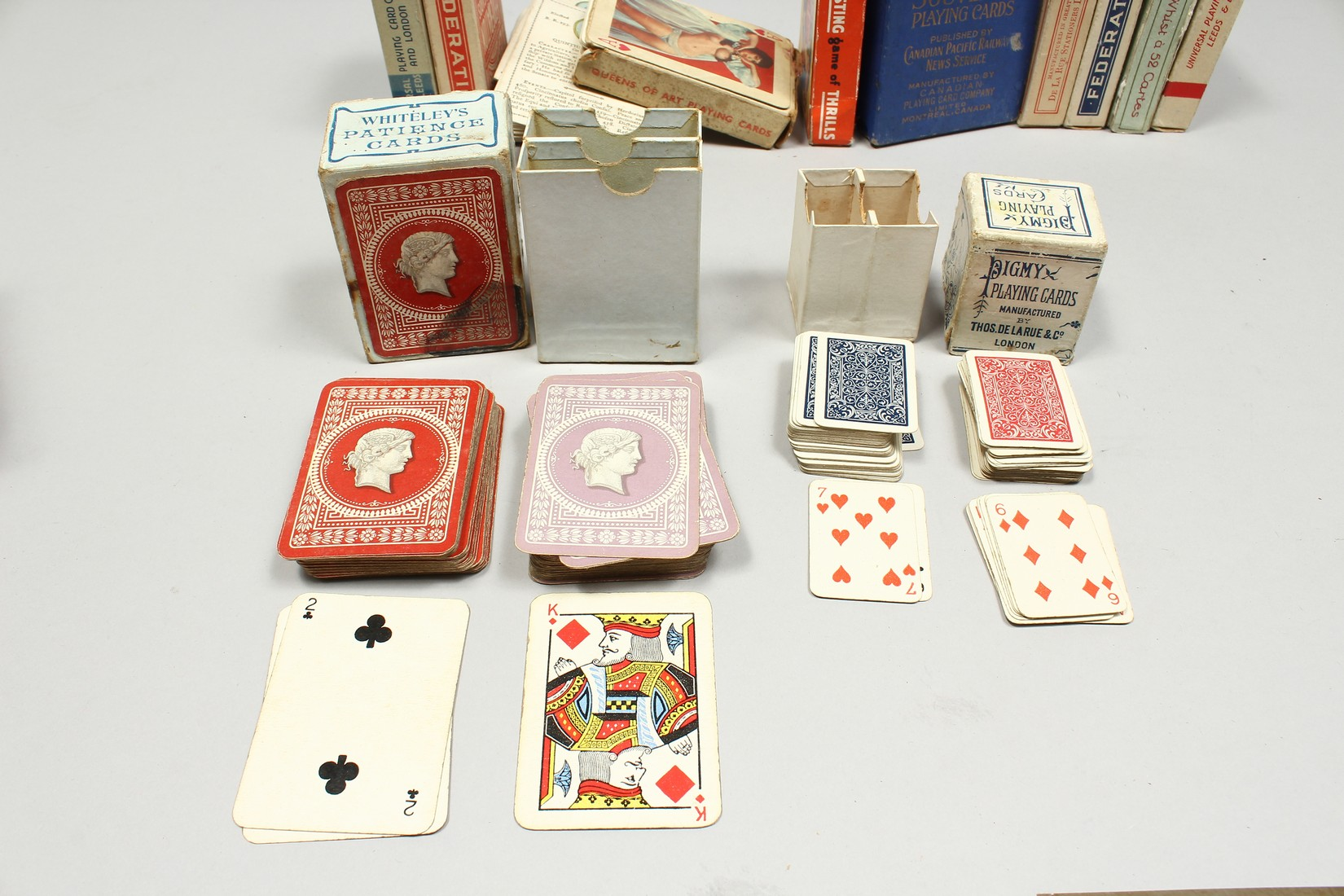 A COLLECTION OF VARIOUS PLAYING CARDS. - Image 9 of 16