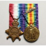 THE MEDALS OF SGT. A.K. STERNE. 11 LONDON REG. Mentioned in Despatches, London Gazette, 16/01/18.