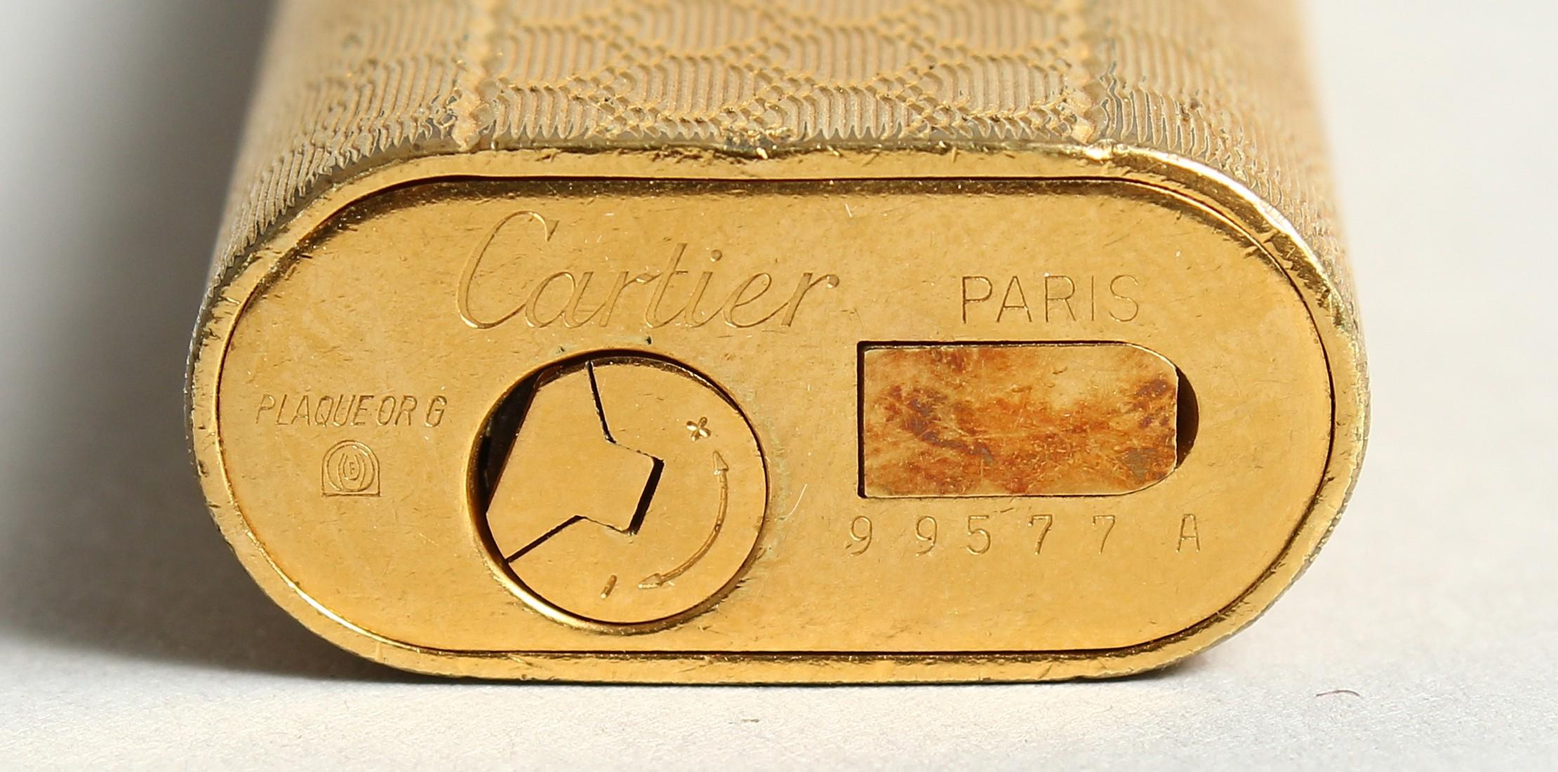 A GOOD CARTIER LIGHTER in original box. - Image 5 of 9