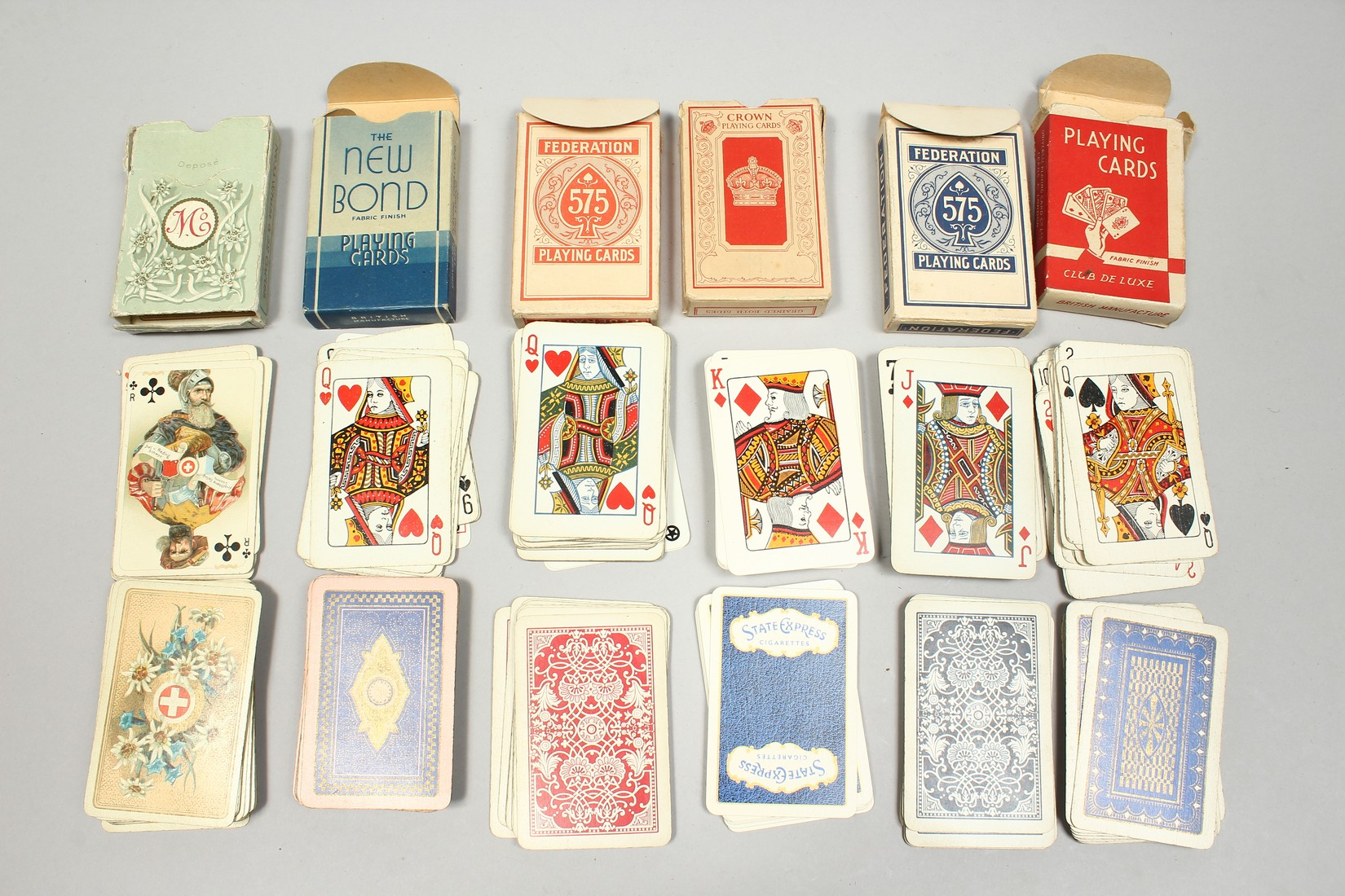A COLLECTION OF VARIOUS PLAYING CARDS. - Image 14 of 16
