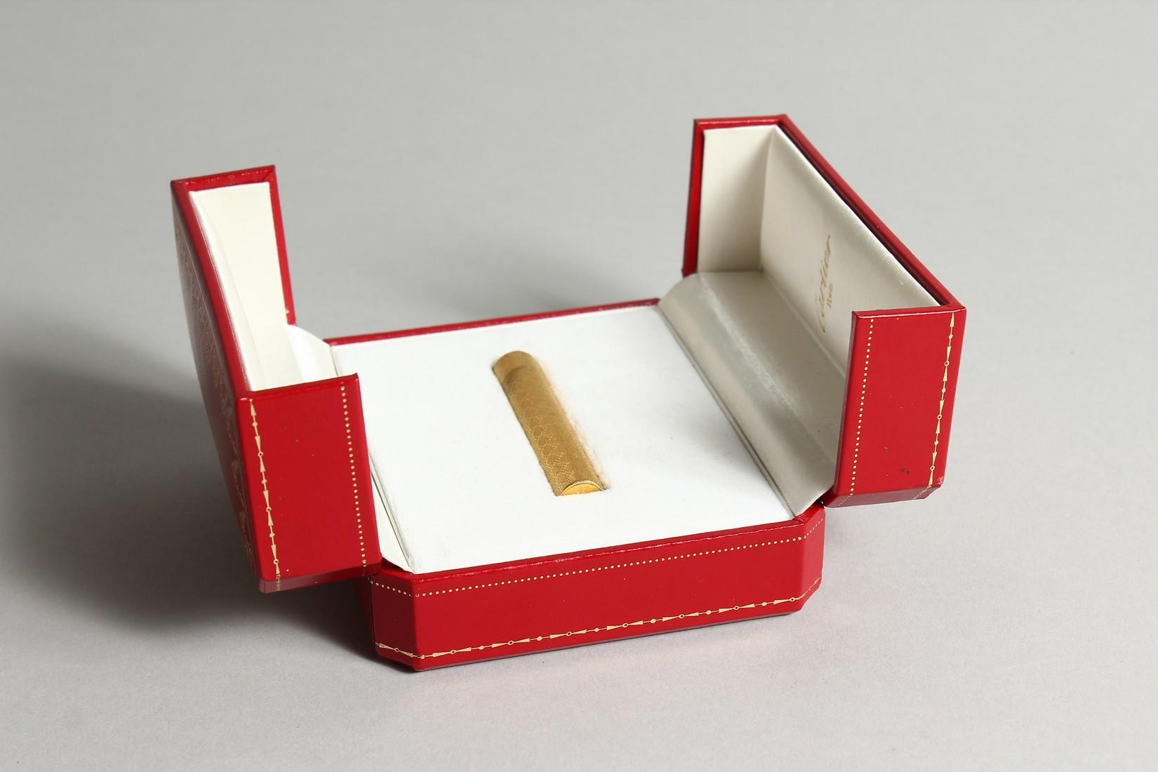 A GOOD CARTIER LIGHTER in original box. - Image 9 of 9