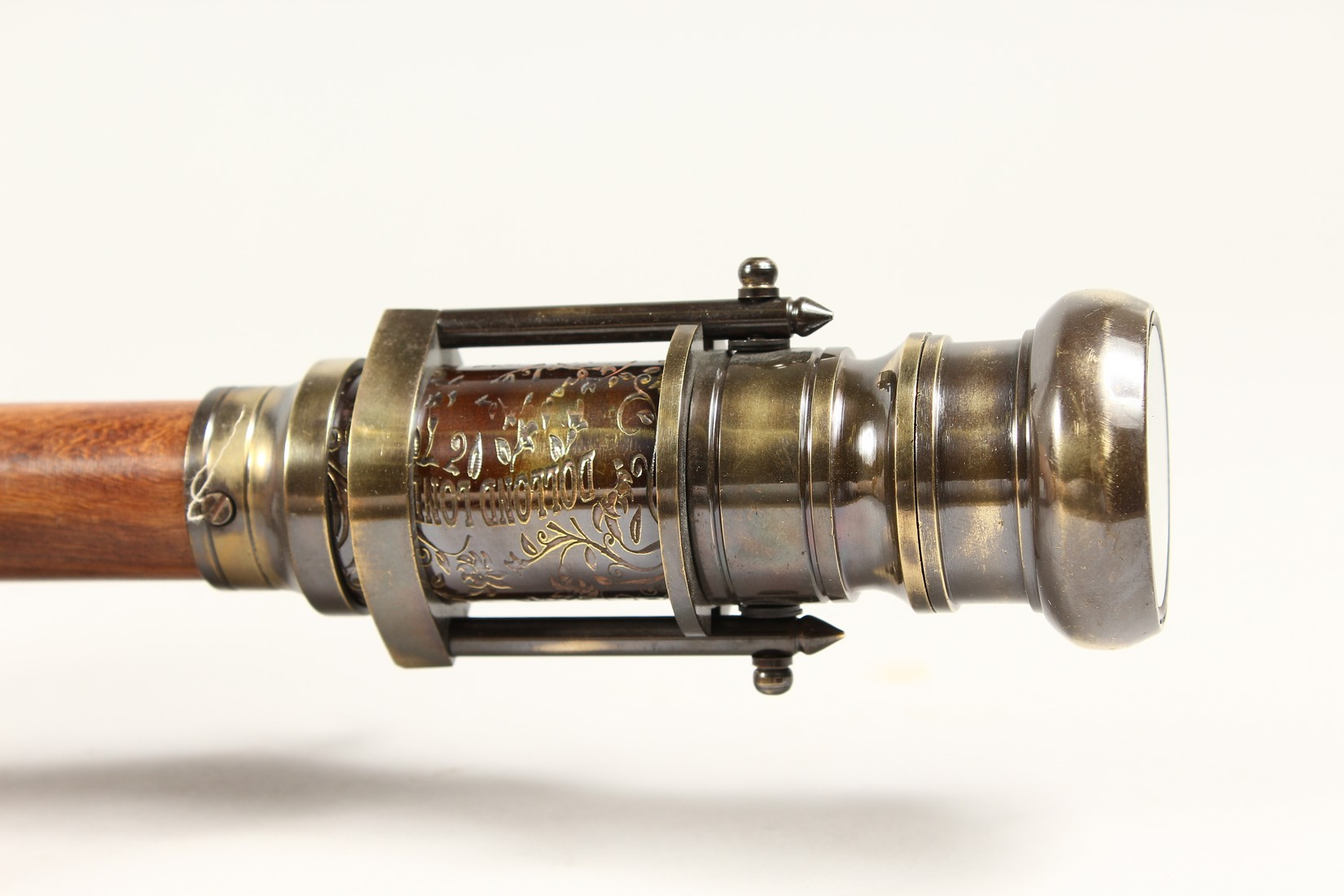 A WALKING STICK with compass and telescope - Image 5 of 9