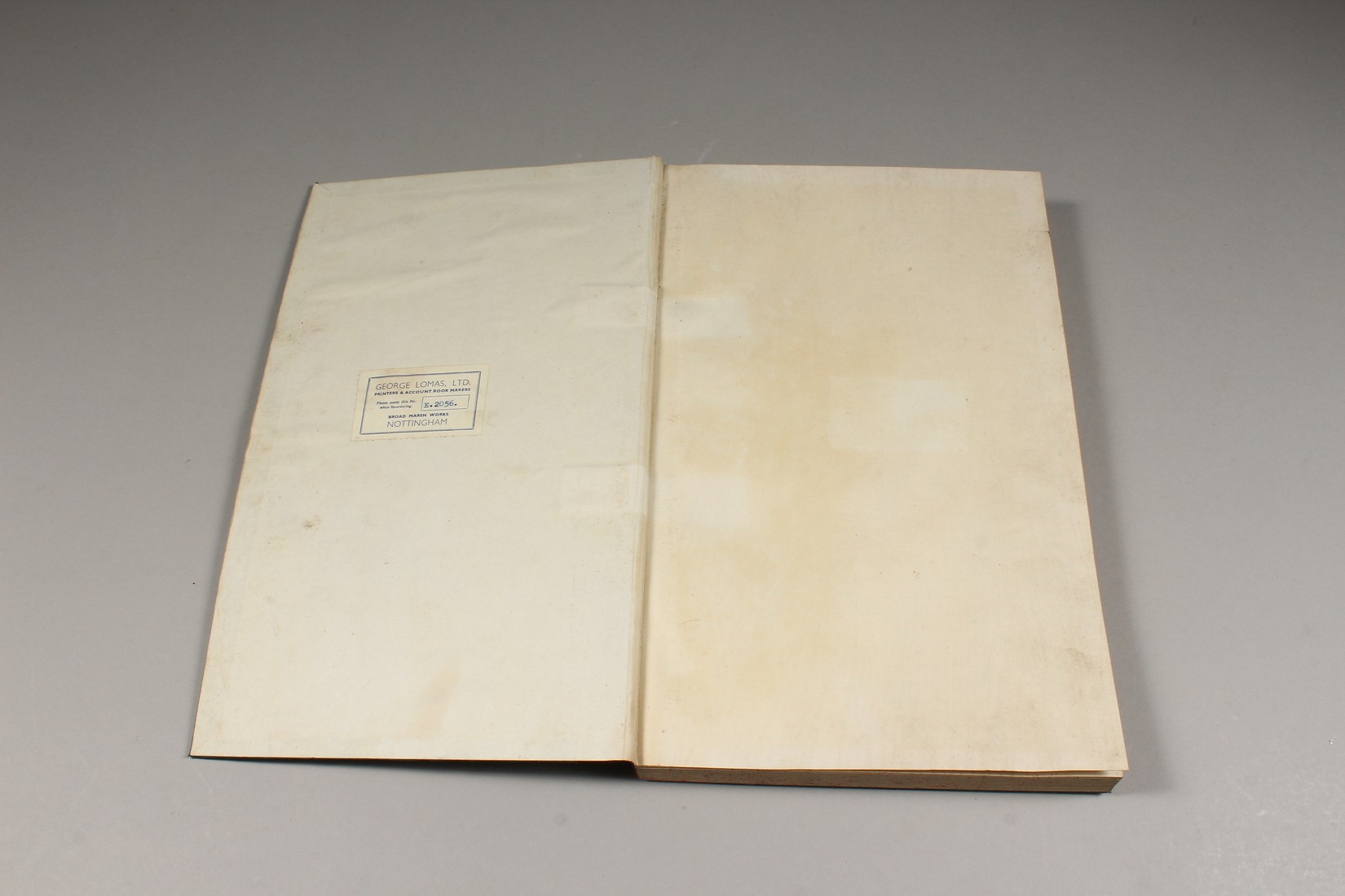 AN OLD UNUSED GOODS RECEIVED BOOK. - Image 3 of 5