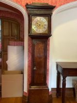 A SUPERB EARLY OAK LONGCASE CLOCK by GABRIEL SMITH BARTHOMLEY, CIRCA. 1720, eight-day movement,