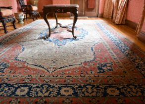 A GOOD LARGE WEST PERSIAN CARPET, probably SAROUK, at the end of the 19th century, circa. 1890, with