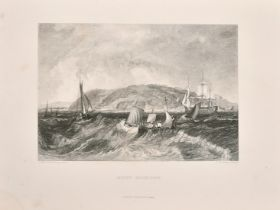 """After Turner, A collection of five prints by virtue and co., 7.5"""" x 9.5"""" (5)."""